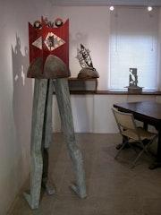Saut de haie. Bruno Maillard Sculpteur