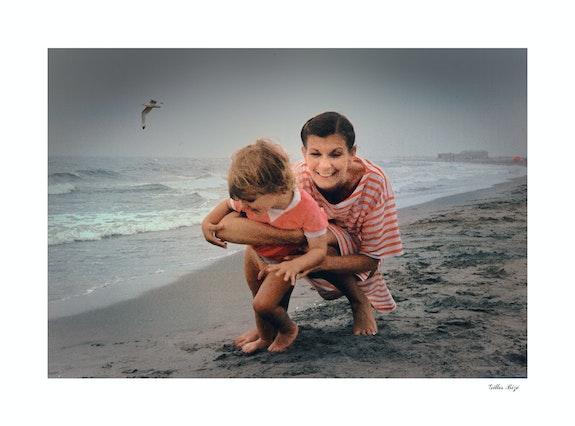 La femme et l'enfant. Gilles Bizé Gilles Bizé