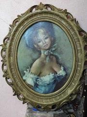 Bonjour a tous j'ai une vieille peinture de la princesse. Omar Elmahi