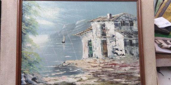 Peinture de discours.  Omar Elmahi