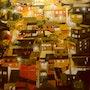 A favela a noite. José Sousa