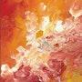 «Fuego» Óleo pequeño pero muy intenso. Leon Xlll