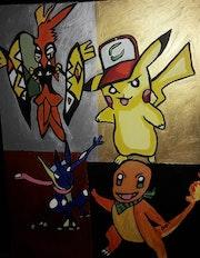 Pikachu. Luc Terrail