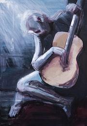 Guitarist. Andreea Susanu