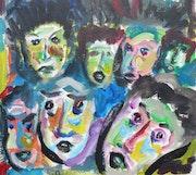 Les visages.