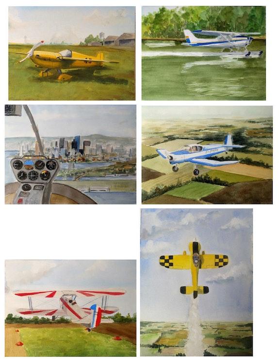 Airplanes. Jean-Pierre Dubreuil Jean-Pierre Dubreuil
