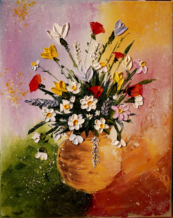Bouquet de fleurs des champs. Bruno Léger Bruno Léger