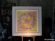 Akira, oil canvas.