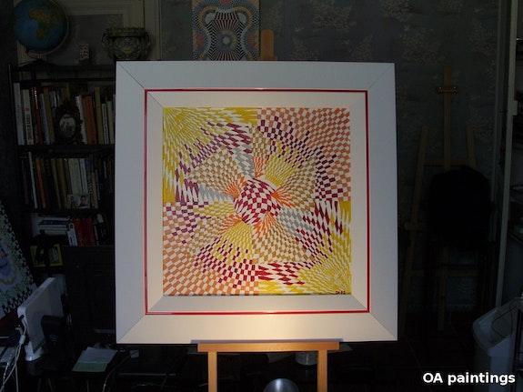 Akira, oil canvas. Olivier Avenel Olivier Avenel