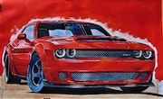 Dodge Challenger demon.