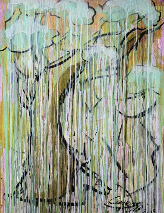 L'arbre de vie pleurant. Gabriel Campanozzi L'atelier Gc