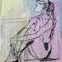 L'Égyptienne - Femme nu à la fenêtre. L'atelier Gc