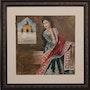 Ancient Woman Detailed Dress by Shanzay Subzwari. La Galleria