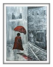 Rainy street.