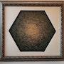 Hexagon Dervish Abstract Art by Khusro Subzwari. La Galleria