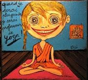 Je suis prof de yoga ! ….