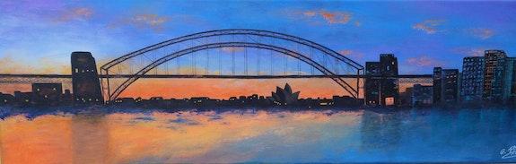 Le pont de Sydney. Ghislaine Phelut Sanchez Ghislaine Phelut