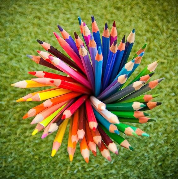 Tourbillon de Crayons. Nico Nico