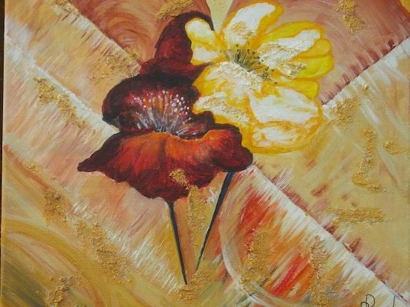 Modeste bouquet. Mme Pierrette Ricaud P. Ricaud
