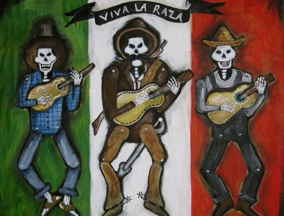Viva La Raza.  Jocee Winter