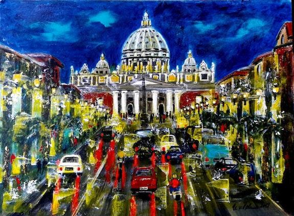 Aus der Serie «bella Italia» - Roma -. Ulrike Sallós-Sohns U. V. Sohns