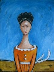 Frida, in Repose. Jocee Winter