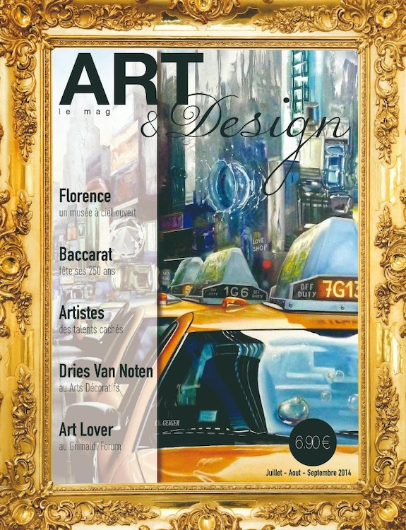 N°01 Art & Design --- Aout - Septembre - Octobre 2014. Artmagart -- Magazine Internet : Artmag. Art Art & Design International