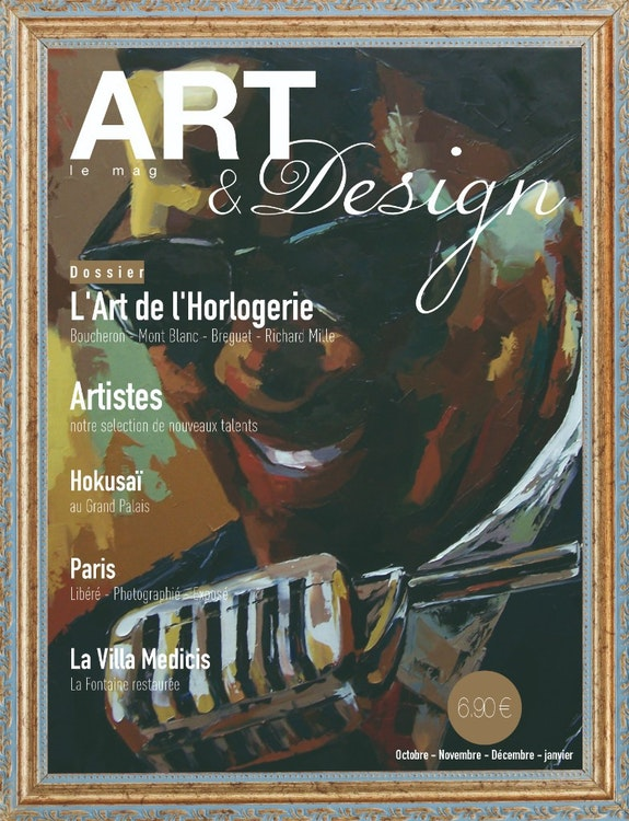 N°02 Art & Design --- Novembre - Décembre 2014 - janvier 2015. Artmagart -- Magazine Internet : Artmag. Art Art & Design International