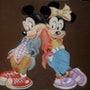 Mickey et Minnie. Marie-Claude Le Rest