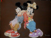 Mickey et Minnie.