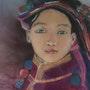 Tibétaine. Vivi