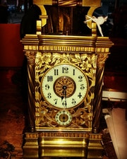Carriage clock Siglo XIX hacia 1840. Anticnova Art Gallery
