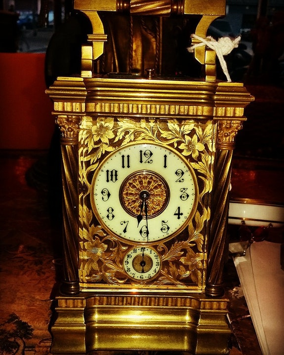 Carriage clock Siglo XIX hacia 1840. Leguille Anticnova Art Gallery