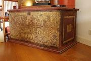 Burmese manuscript chest. Antikasia