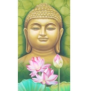 Buddha with Lotus.