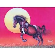 Horse and Sun. Vgo Cart