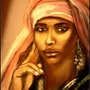 Femme africaine. Joelle Bouriel
