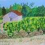 Loge de vigne de Monthou (41). Catherine Souet-Bottiau