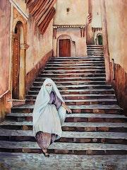 Rue Bab el djedid (porte neuve)Casbah d'Alger.. Hamri