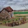 Loge de vigne à Bléré. Catherine Souet-Bottiau