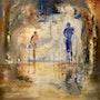 Gilgamesch und Enkidu. Peter Klonowski