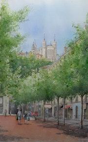 Lyon - En passant par Bellecour.