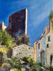 Le dongeon d'Evenos en Provence.