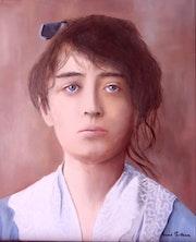 Portraint de Camille Claudel.