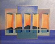 Le cinquième élément, série abstraite 1998. Jean Daniel Rousseau