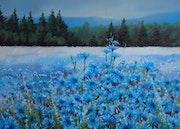 Blue prairie.