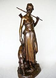 «Nymphe de Diane». Marc Menzoyan Antiquités