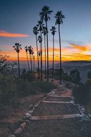 Vue sur Los Angeles.