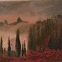 Automne en Toscane. Maguy Mathieu