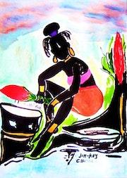 Négritude en couleurs. Jim-Koy Chablis